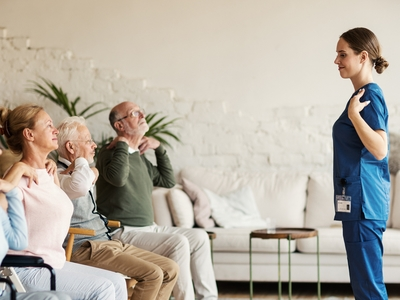 Bella Home Care - Staying Active With Patients